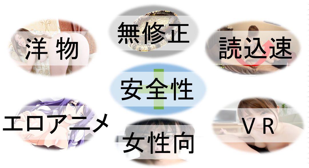 フェチ・目的別無料エロ動画サイト紹介